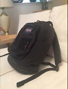 Jansport 43647 Black Nylon Made In Mexico Multipocket Backpack