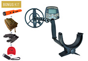 Aka Sorex Pro Metal Detector Kit W/ Pinpointer And 10 Dd Coil - Gold Prospecting