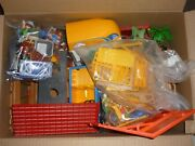 Huge Playmobil Outdoors Lot Forest Ranger Pony Ranch Horse Trailer Forset And More