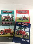 4 Magazines Volume 17 Red Power Magazine 2002 Back Issues Ih Collectors Tractor