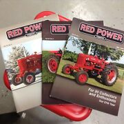 3 Red Power Magazines Volume 27 2012-13 Back Issues Ih Collectors Tractor