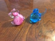 Two Glass Figurines