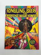 Ringling Bros And Barnum And Bailey Circus Magazine And Program 1973 103rd Edition