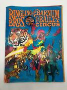 Ringling Bros And Barnum And Bailey Circus Magazine And Program 1978 108th Edition