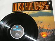 Don Rendell Ian Carr - Dusk Fire Sx 6064 Rare First Edition Uk Pressing