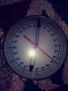 Vintage 1950s American Time Corp Clock Military Time Light Up Clock