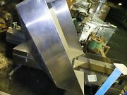 Stainless Steel Hopper With Drag Elevator, No Motor