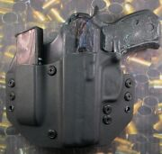 Hunt Ready Holsters Cz 75 P01 Lh Owb Holster With Extra Mag Carrier