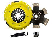 Act Fm2-hdr6 Advanced Clutch Hd/race Rigid 6 Pad For 2005-10 Ford Mustang Gt