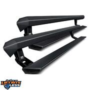 Amp Research 77238-01a Black Powder Coated Powerstep Xl For 2018-2019 Ram 2500
