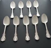 Set Of 9 Silver 1847 Rogers Bros Spoons