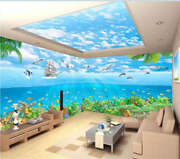 Lively Water World 3d Full Wall Mural Photo Wallpaper Printing Home Kids Decor