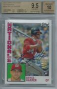 2012 Topps Archives Auto Bryce Harper Sp Bgs 9.5 10 Rc Nationals Rookie