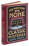 New Leatherbound And Then There Were None And Classic Mysteries Agatha Christie