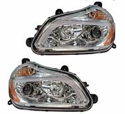 Kenworth T680 Chrome Projection Headlight Set