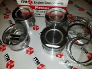 Toyota 22r And 22re And Rec +.020 Oversize Pistons And Chrome Rings Set Of 4