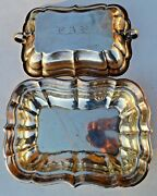 Estate Sterling Silver Reed And Barton Windsor X959 Covered Vegetable Tray-11 3/8