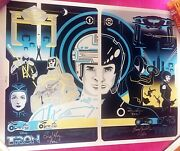 Tron / Tron Legacy - Sold Out - Fine Art Print - Sideshow Exclusive By Eric Tan