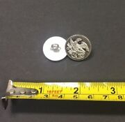 Reproduction Usa War Of 1812 Buttons - Pewter Button With Eagle Over Oval Design