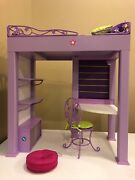 American Girl Doll Mckenna's Loft Bedmint And Complete