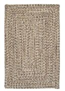 Corsica Storm Gray Braided Area Rug/runner By Colonial Mills.many Sizes.cc89