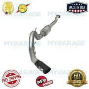 Afe For F-150 V6 Atlas Exhausts Cat-back Alum Steel Exhaust Sys 49-03069-b