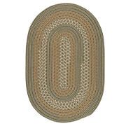 Georgetown Olive Braided Area Rug/runner By Colonial Mills. Many Sizes. Gt60