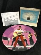 """Elvis Presley Collector Plate, """"loving You"""" Box 2"""