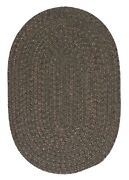 Hayward Olive Green Braided Area Rug/runner By Colonial Mills. Many Sizes. Hy69