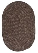 Hayward Bark Brown Braided Area Rug/runner By Colonial Mills. Many Sizes. Hy99