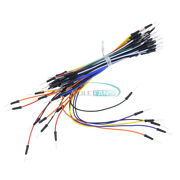 1/2/5/10pcs 65pcs Male To Male Flexible Solderless Jumper Wires Breadboard Cable