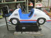 Antique Coin Operated Herbie The Love Bug Racing Car Amusement Kiddie Ride