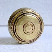 1910s Old Antique Beautiful Collectible Handmade Brass Powder/ Jewelry/ Gift Box