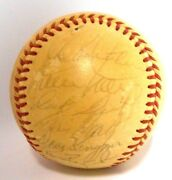 Willie Mays Gaylord Perry Juan Marichal 1971 Giants Ball Team Signed Autographed