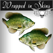 Rv Decals 2 Crappie Fish Stickers 24 Boat Graphic Decals Fishing Stickers Rv4