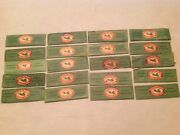 20 Vintage Beech Nut Brand Chewing Gum Wrappers