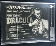 Peter Cushing And Christopher Lee Dracula Double Signandeacute Autographe Photo Beckett