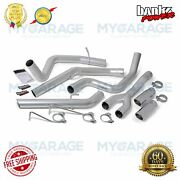 Banks For 14-16 Ram 3.0l Power Monster Exhaust System Dual Rear Exit Chrme 48602
