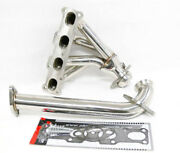 Obx Racing Exhaust Header For 1991-1996 Ford Escort Gt / Mercury Tracer Lts 1.8l