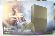 Microsoft Xbox One S Battlefield 1 Military Green Limited Console Bundle 1tb