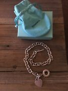 And Co Vintage 1837 Toggle And Heart Necklace