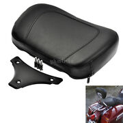 Sissy Bar Passenger Backrest Pad W/mounting Fit For Touring Model 1997-2018