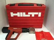 Hilti Dx A40 With X-hm Powder Actuated Stamping Tool
