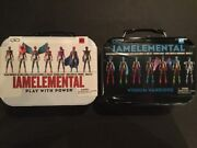 Iamelemental Series 1 Courage And Series 2 Wisdom Lunchboxes Still Sealed