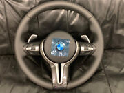 Bmw Steering Wheel With Pedals Carbon Heating + Vibro F15 F30 F31 F34 F20 F21