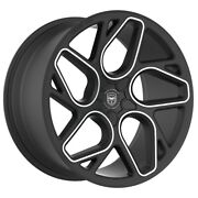4 Gwg Bremen 20 Inch Satin Black Machined Rims Fits Nissan Rogue Select S 14-15