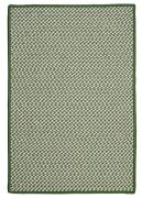 Outdoor Houndstooth Tweed Leaf Green Braided Area Rug/runner. Many Sizes. Ot68