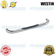 Westin For 99-13 Sierra 1500 Signature Series Round Bars 3chrome Plated 25-1400