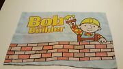 Bob The Builder With Tractor And Dozer Standard Pillow Case