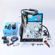 Efl 110v 800w 4 Axis 3040 Cnc Router Engraving Drilling Milling Machine Usb Port